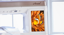 Baby Lock Aerial LCD Color Touchscreen