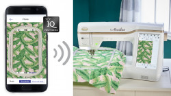 Baby Lock Meridian IQ Intuition Positioning App