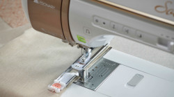 Baby Lock Solaris 2 Camera Detecting Buttonhole Foot