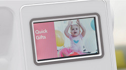 Baby Lock Verve - Large Color LCD Screen