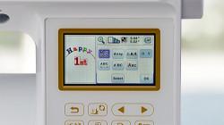 Baby Lock Aventura II - 13 Built in Fonts
