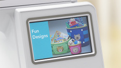 Baby Lock Flourish II Color LCD Touch Screen