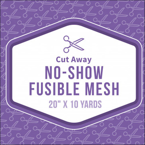 Baby Lock No Show Mesh Fusible Stabilizer