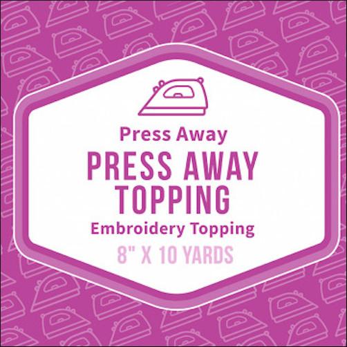 Baby Lock Press Away Embroidery Stabilizer