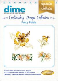 DIME Inspiration Designs - Fancy Petals