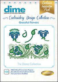 DIME Inspiration Designs - Graceful Flowers