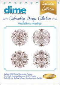 DIME Inspiration Designs - Medallions Medley