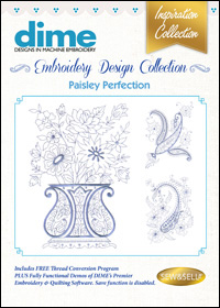 DIME Inspiration Designs - Paisley Perfection
