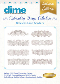 DIME Inspiration Designs - Timeless Lace Borders
