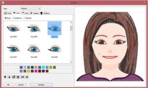 DIME Inspiration Software - My Emoji Stitches, Female