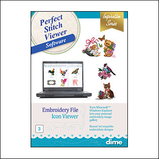 DIME Inspiration Software - Perfect Stitch Viewer