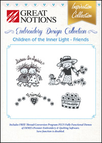 Great Notions Embroidery Designs - Children of the Inner Light – Friends
