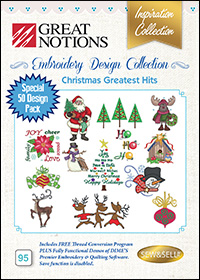 Great Notions Embroidery Designs - Christmas Greatest Hits