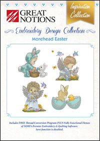 Great Notions Embroidery Designs - Morehead Easter