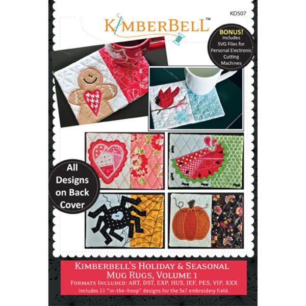 Kimberbell Designs - Mug Rugs, Holiday & Seasonal, Volume 1