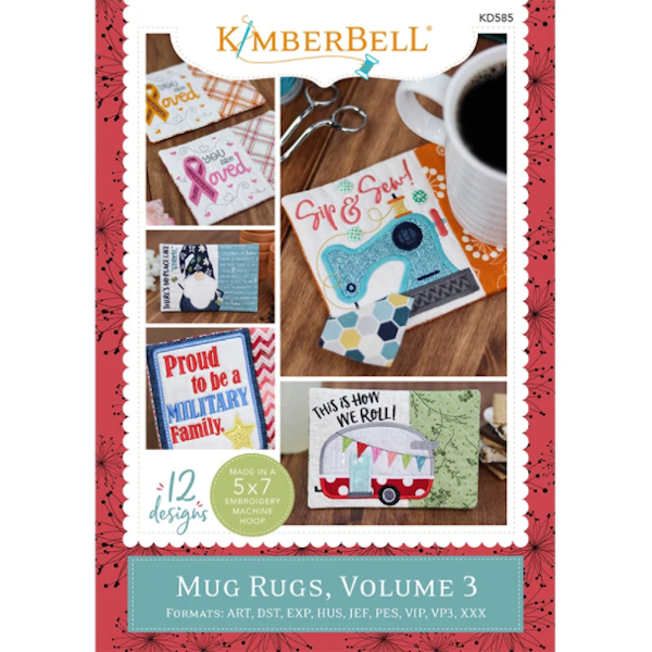 Kimberbell Designs - Mug Rugs, Volume 3