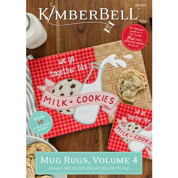 KIMBERBELL DESIGNS - MUG RUGS, VOL. 4