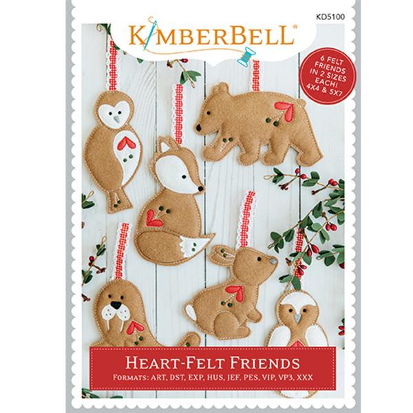 Kimberbell Designs - Heart-Felt Friends