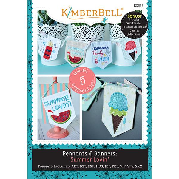 Kimberbell Designs - Pennants & Banners:  Summer Lovin