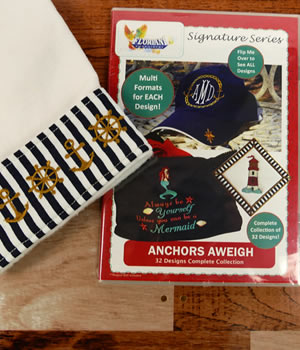 Floriani Anchors Away Designs