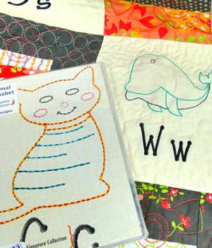 Floriani Animal Alphabet Designs