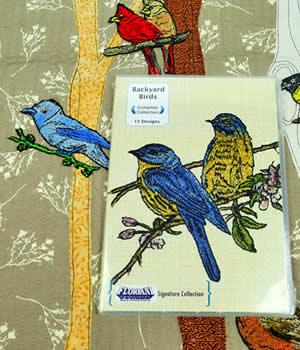 Floriani Backyard Birds Designs