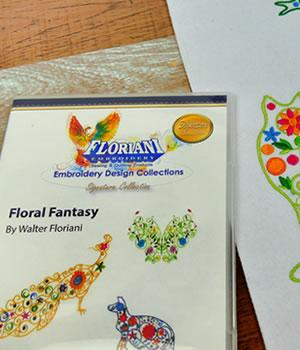 Floriani Floral Fantasy Designs