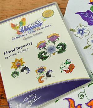Floriani Floral Tapestry Designs