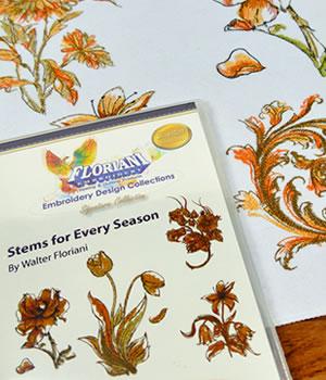 Floriani Stems for Every Season Designs