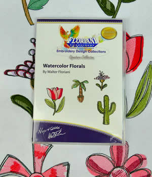 Floriani Watercolor Florals Designs