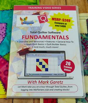 Floriani Software - Total Quilter Software Fundamentals