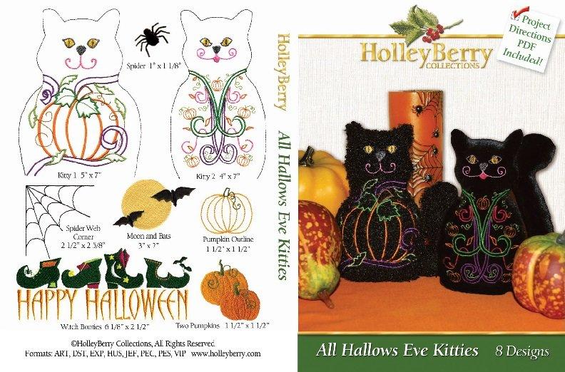 HolleyBerry All Hallows Eve Kitties