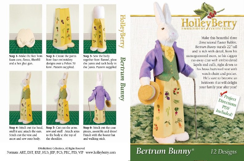 HolleyBerry Bertram Bunny