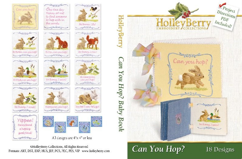 HolleyBerry Can You Hop? Soft Book