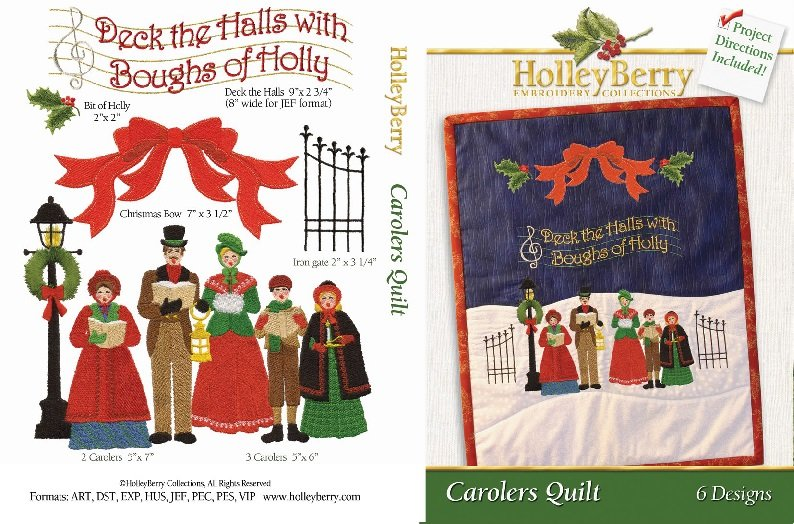 HolleyBerry Carolers Quilt