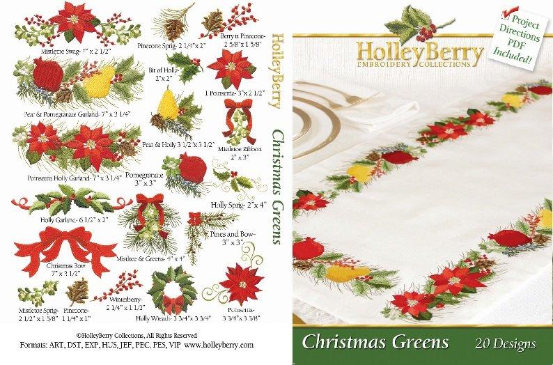 HolleyBerry Christmas Greens