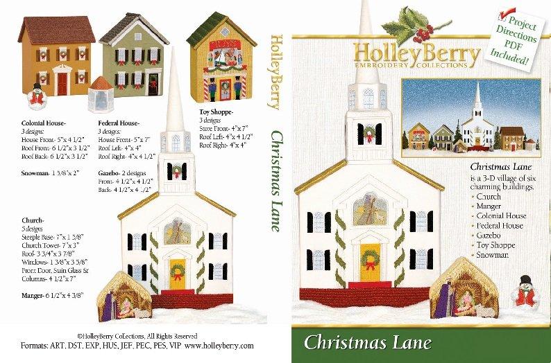 HolleyBerry Christmas Lane