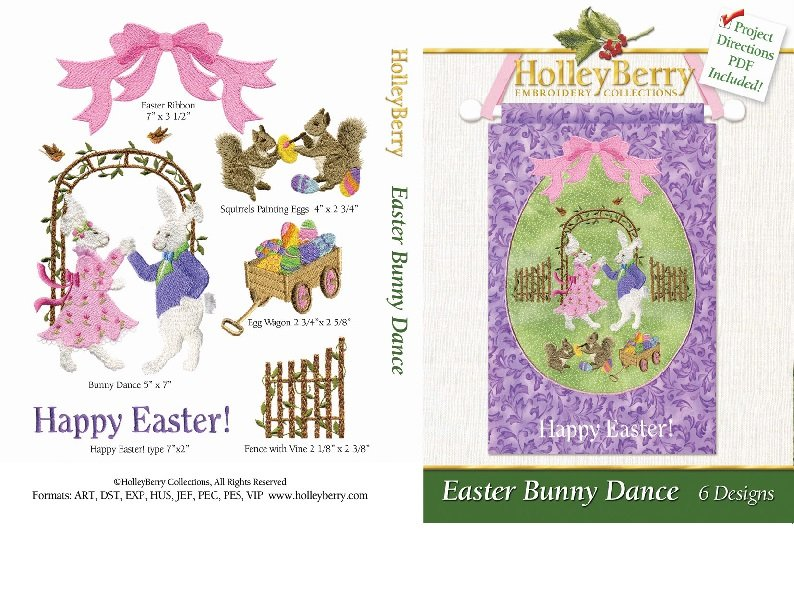 HolleyBerry Easter Bunny Dance