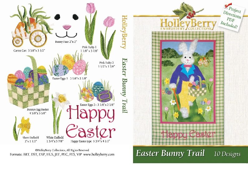 HolleyBerry Easter Bunny Trail