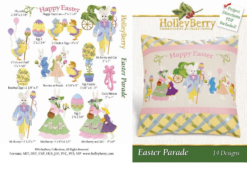 HolleyBerry Easter Parade