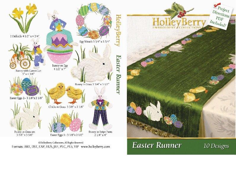 HolleyBerry Easter Runner