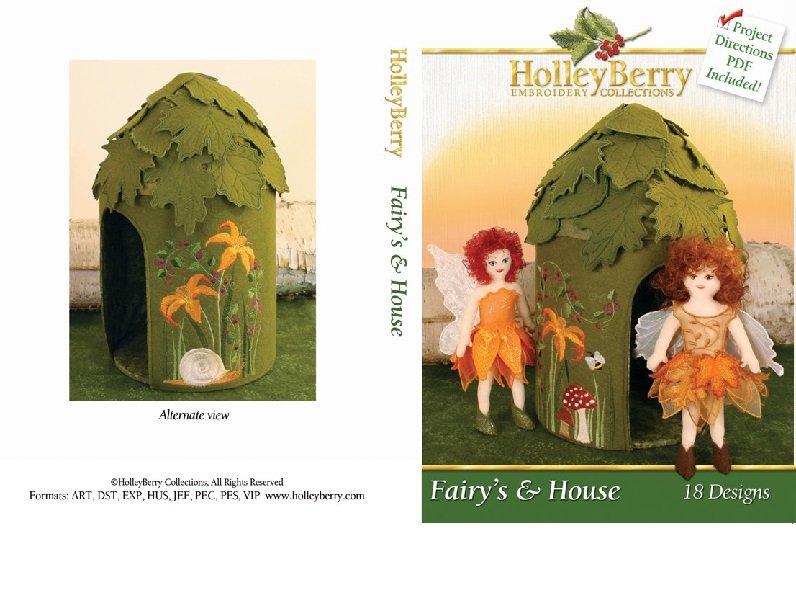 HolleyBerry Fairies & House