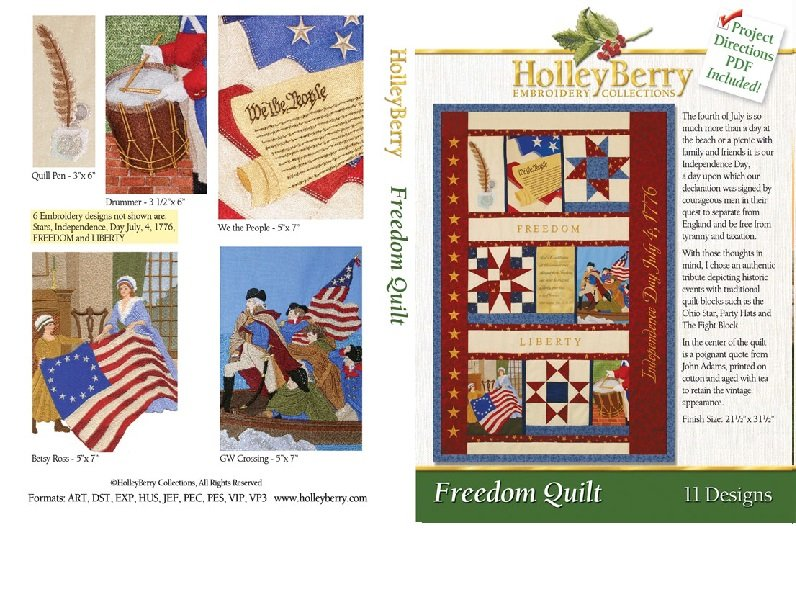 HolleyBerry Freedom Quilt