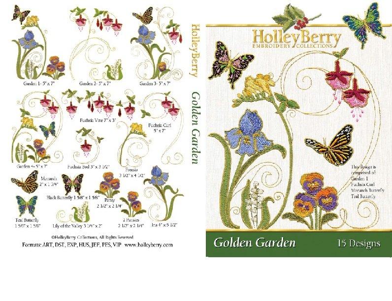 HolleyBerry Golden Garden
