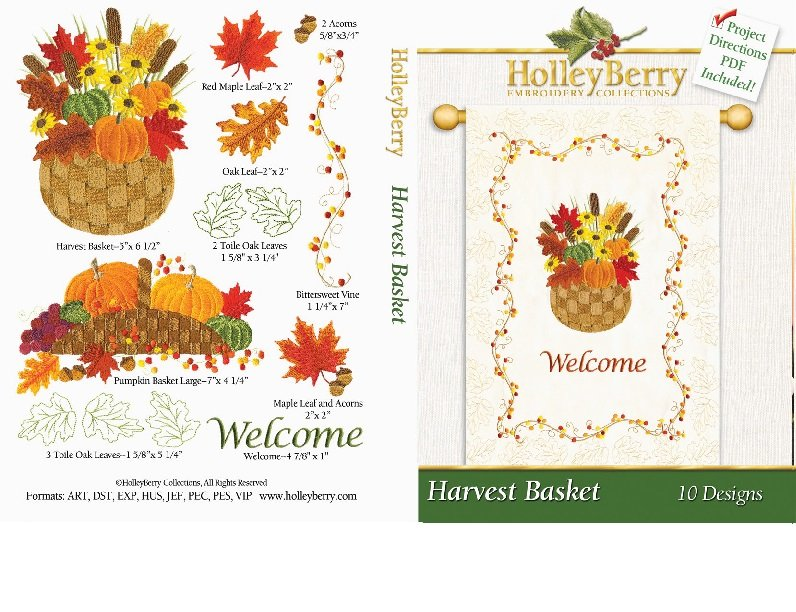 HolleyBerry Harvest Basket