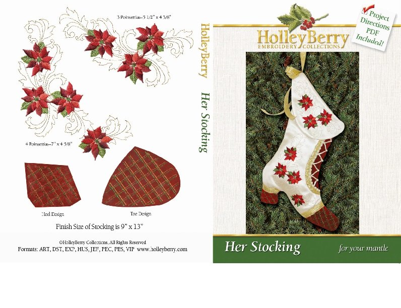 HolleyBerry Her Stocking