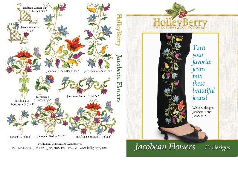 HolleyBerry Jacobean Flowers
