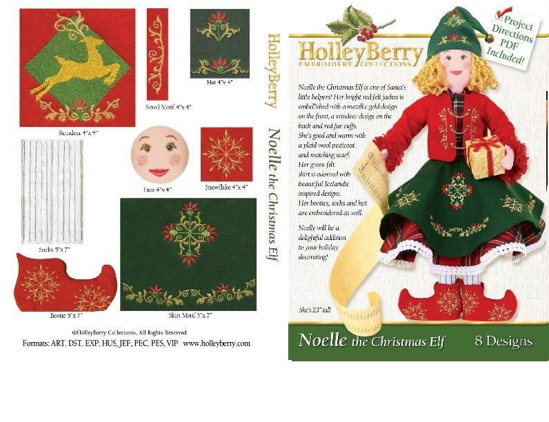 HolleyBerry Noelle the Christmas Elf