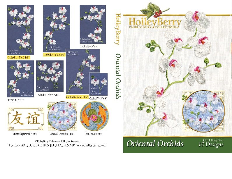 HolleyBerry Oriental Orchids