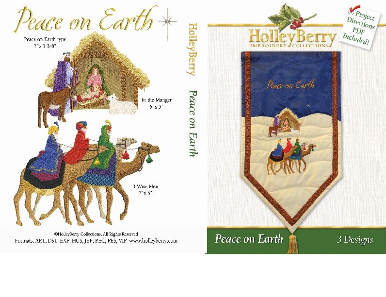 HolleyBerry Peace on Earth